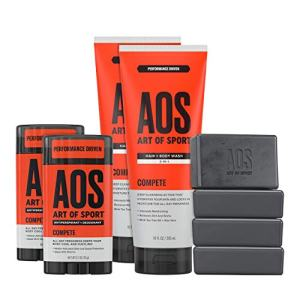 Art of Sport Athlete Collection, Compete Scent, 8pc Skin and Body Care Set