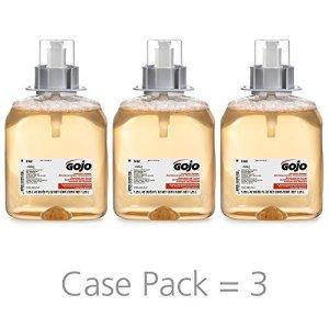 GOJO Luxury Foam Antibacterial Handwash, Fresh Fruit Fragrance
