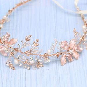 Braveamor Luxury Bridal Headpieces Handmade Wedding Headbands