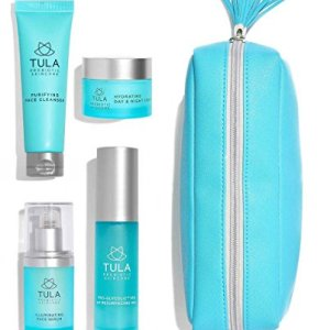 TULA Probiotic Skin Care Discovery Kit - Travel-friendly Facial Cleanser