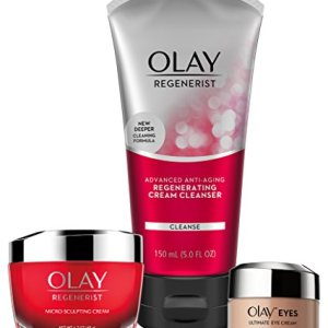 Face Wash by Olay Anti-Aging Skincare Kit with Regenerist Cleanser