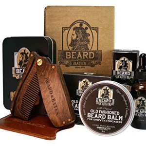 Beard & Bates | Grooming Essentials Beard Kit | Premium 19th Century Beard Balm