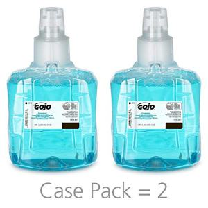 GOJO LTX-12 Foam Handwash, Pomeberry Fragrance, 1200 mL Green Certified