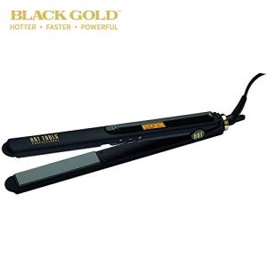 HOT TOOLS Professional Black Gold Digital Long Flat Iron