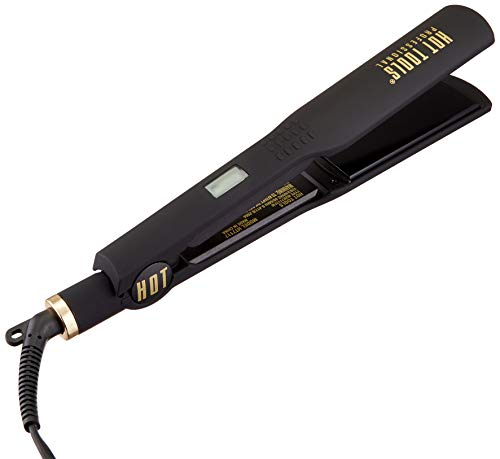 HOT TOOLS Professional Black Gold Digital Flat Iron