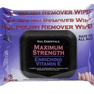 Nail Essentials Nail Polish Remover Wipes - Vitamin E Enriched