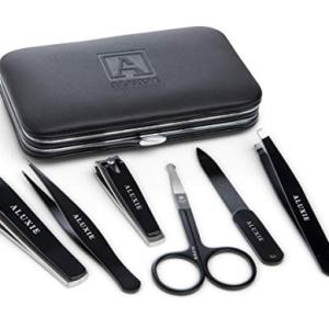Manicure and Pedicure Kit for Men by Aluxie - Convenient