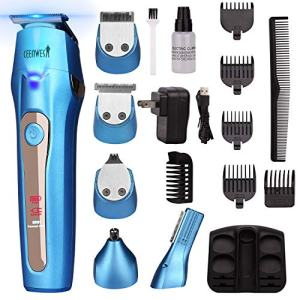Ceenwes Cool 5 In 1Mens Grooming Kit Professional Beard Trimmer Rechargeable