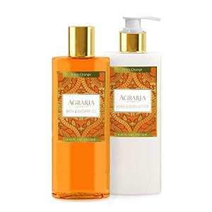 AGRARIA Bitter Orange Luxury Body Lotion and Shower Gel Duo