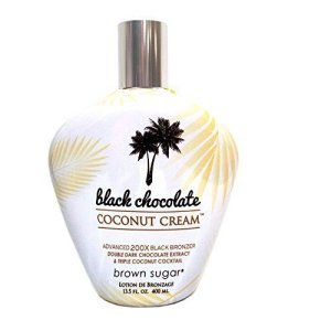 Brown Sugar BLACK CHOCOLATE COCONUT CREAM