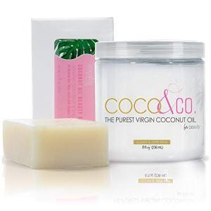 COCO & CO. Pure Coconut Oil Beauty Bar and Coconut oil