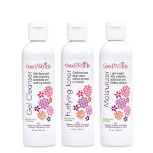 Good For You Girls Three-Step Skincare Set, Gel Cleanser