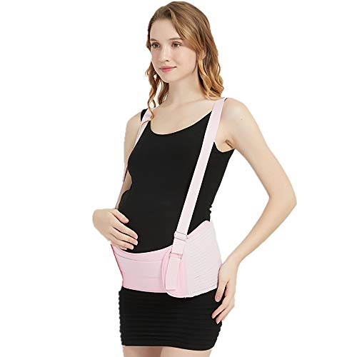 GuoYq Maternity Belt,Pregnancy Support Belt Bump Band GuoYq Maternity Belt,Pregnancy Support Belt Bump Band Abdominal Support Belt Belly Back Bump Brace Strap with Detachable Shoulder Straps.