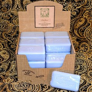 Case of 18 Pre de Provence Starflower Scent 150 gram shea butter large soap bars