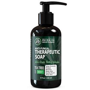 Antifungal Antibacterial Soap & Body Wash - Natural Fungal Treatment