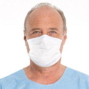 HALYARD SO Soft Fog-Fog Free Procedure Mask, w/SO Soft Lining and Earloops, 62363 (Box of 50)