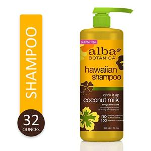 Alba Botanica Drink It Up Coconut Milk Hawaiian Shampoo