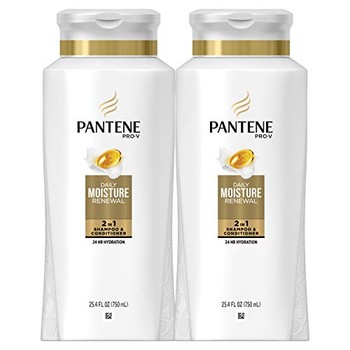 Pantene, Shampoo and Conditioner 2 in 1, Pro-V Daily Moisture Renewal