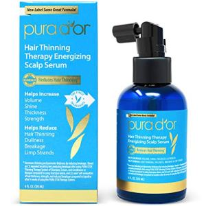 PURA D'OR Hair Thinning Therapy Energizing Scalp Serum Revitalizer