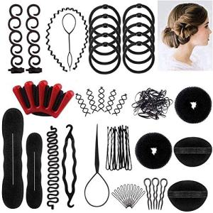 Winkeyes Hair Styling Set, Hair Design Styling Tools Accessories DIY Hair Accessories