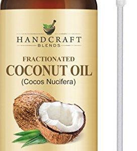 Fractionated Coconut Oil - 100% Pure & Natural Premium Therapeutic Grade