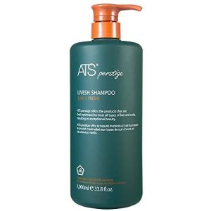 ATS Perstige Livesh Shampoo - 1000ML, Hair Loss and Growth Silicone Free