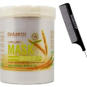 Salerm Cosmetics WHEAT GERM Capillary MASK Conditioner Masque