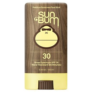 Sun Bum Original SPF 30 Sunscreen Face Stick | Vegan and Reef Friendly (Octinoxate & Oxybenzone Free) Broad Spectrum Moisturizing Roll-On UVA/UVB Sunscreen with Vitamin E | .45 oz