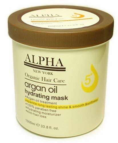 Argan Oil Original Hydrating Mask Hair Repair By Alpha New York 1000 ml