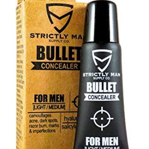 Bullet Concealer for Men by Strictly Man Supply Co. | Spot Targeting Face