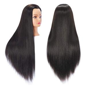 "Hairingrid 26""-28"" Mannequin Head Hair Styling Training Head Manikin"