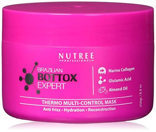 Brazilian Hair Bottox Expert Thermal Mask 8.8 oz - Contains Marine Collagen