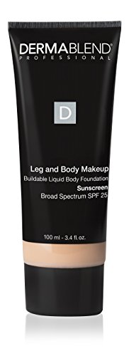 Dermablend Leg and Body Makeup, with SPF 25. Skin Perfecting Body Foundation