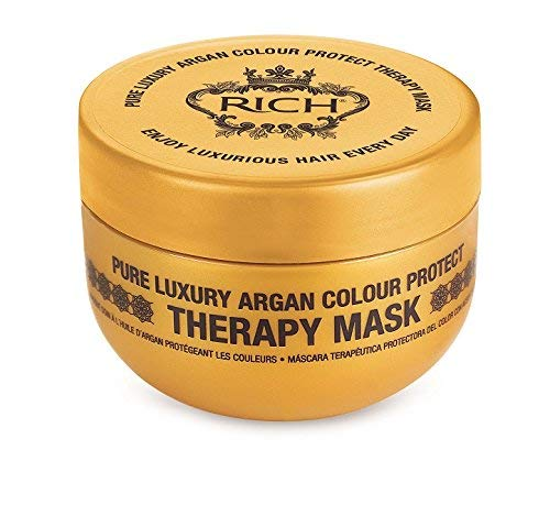RICH Pure Luxury Argan Color Protect Mask with Argan Oil for All Hair Types