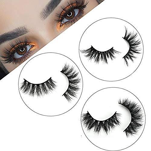 3D Mink Eyelashes Full Volume Dramatic Lashes 15-25mm Eyelashes Luxury