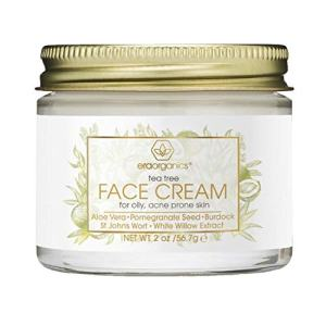 Tea Tree Oil Face Cream - For Oily, Acne Prone Skin Care Natural & Organic Facial