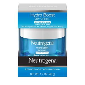 Neutrogena Hydro Boost Hyaluronic Acid Hydrating Face Moisturizer Gel-Cream
