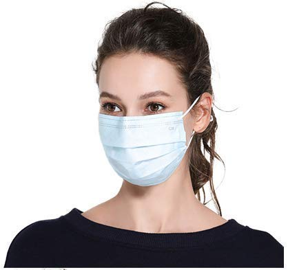 ARAINY Masks for dust protection (50 pieces)