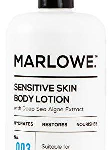 MARLOWE. No. 003 Sensitive Skin Body Lotion 15 oz | Moisturizing, Fragrance-Free