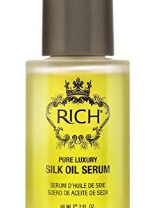 RICH Pure Luxury Silk Oil Serum with Organic Jojoba & Sweet Almond Oil
