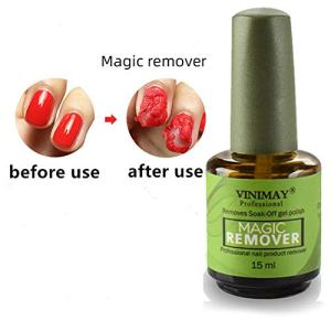 Magic Nail Polish Remover Professional Removes Soak-Off Gel Nail Polish