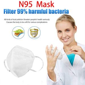 N95 Medical Face Mask Particulate Respirator Dust Surgical Masks Anti-Dust