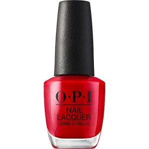 OPI Nail Polish, Nail Lacquer, Big Apple Red, Red Nail Polish