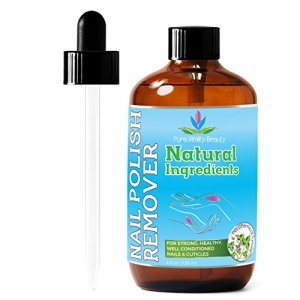 Nail Polish Remover - Natural and Plant Based - Non Acetone