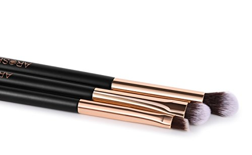 Arose Beauty Rose Gold Luxury Brush Set 12pc Makeup Face & Model: Arose Beauty