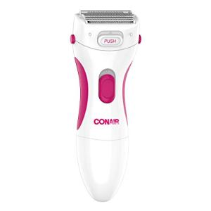 Conair Satiny Smooth Ladies Cordless Twin Foil Shaver with Pop-Up Trimmer