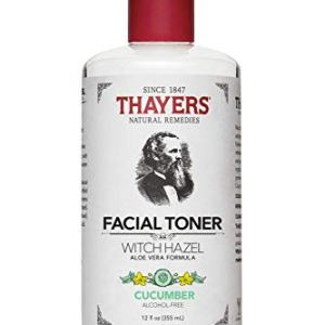 Thayers Alcohol-Free Cucumber Witch Hazel Facial Toner with Aloe Vera Formula - 12 oz