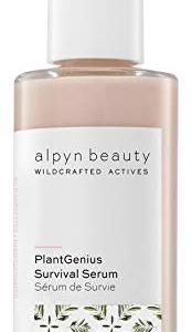 Alpyn Beauty - Natural PlantGenius Survival Serum (1.7 fl oz | 50 ml) (.5 fl oz | 14 ml) | Clean, Wildcrafted Luxury Skin Care