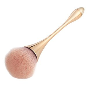 Large Powder Mineral Brush, Kabuki Bronzer Makeup Brush for Large Coverage Loose Powder Bronzer Blush Blending Buffing 1Pcs
