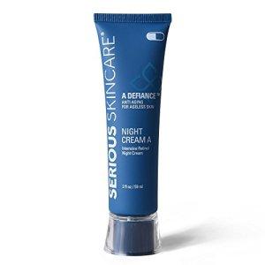 Serious Skincare Defiance A Intensive Retinol Night Cream, 2 Ounce